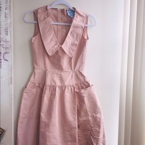 Stunning Silk Pink Prada Dress New